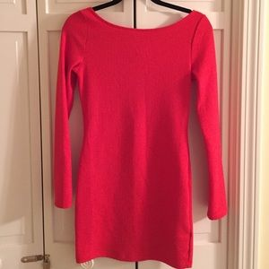 NWOT H&M Red Bodycon Dress - Size 8