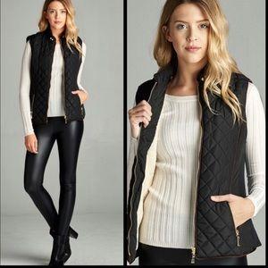 Jackets & Blazers - 🔥🔥PLUS🔥🔥Quilted Vest🔥🔥
