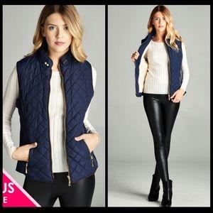 Jackets & Blazers - 👌👌PLUS👌👌Quilted Vest👌👌