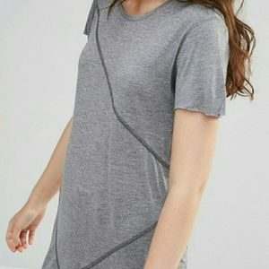 Cheap Monday Tops - Cheap Monday trim grey tee shirt