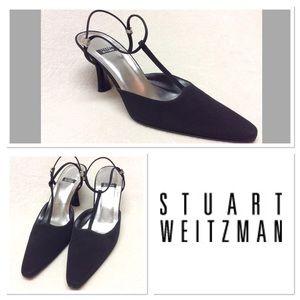 Stuart Weitzman Shoes - 8B STUART WEITZMAN black evening heels