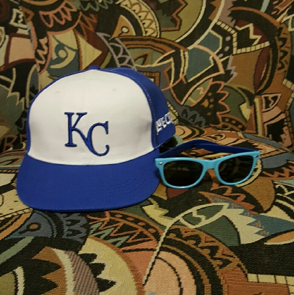 a1f7d322417 KC Royals Other - KC Blue Crew kids hat and sunglasses