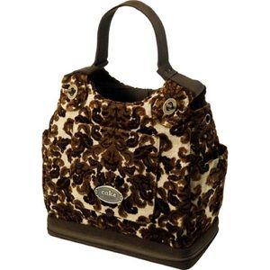 Petunia Pickle Bottom Handbags - Petunia Pickle Bottom Chocolate Decadence handbag
