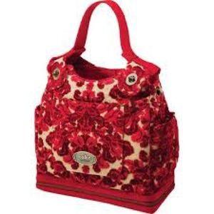 Petunia Pickle Bottom Handbags - Petunia Pickle Bottom Red Velvet Cake Purse NWOT
