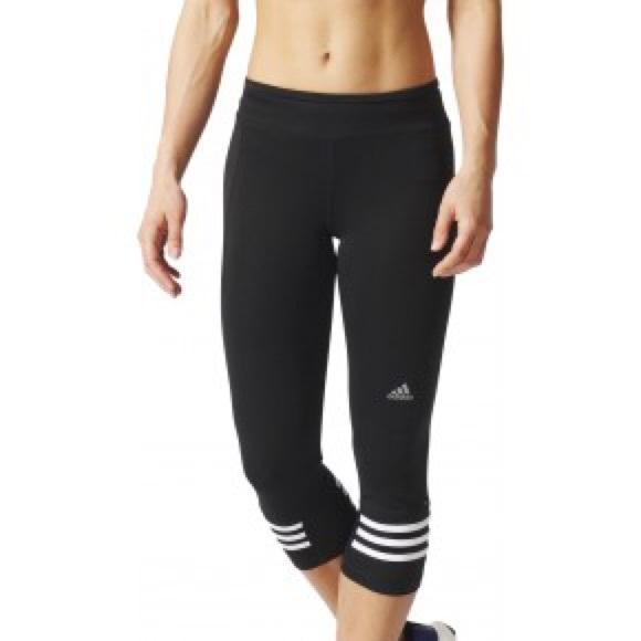 4c2dcd6f426 Adidas Pants | Response 34 Capri Ladies Running Tights | Poshmark