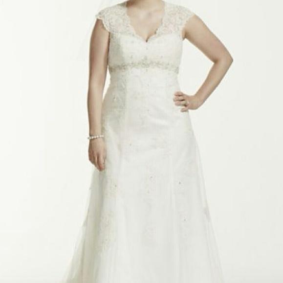 Davids Bridal Dresses Beautiful Plus Size Wedding Dress Poshmark