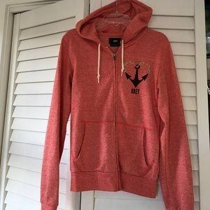 Obey Jackets & Blazers - Obey hoodie size XXS