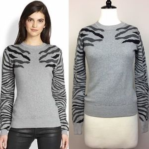 Torn by Ronny Kobo Sweaters - Torn by Ronny Kobo gray crew neck sweater