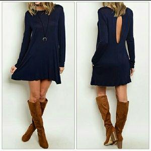 Dresses & Skirts - 'TAYLOR' NAVY BLUE SHIFT DRESS