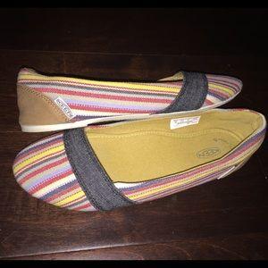 Keen Shoes - KEEN Canvas Flats