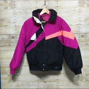 Jackets & Blazers - Pacific Trail Edge color block puffer jacket, S