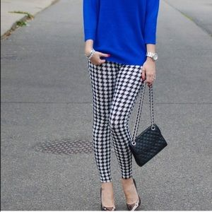 Vivacouture Pants - Chic Houndstooth Leggings