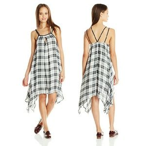 Dresses & Skirts - Sexy Lightweight Plaid Swing Dress NWOT