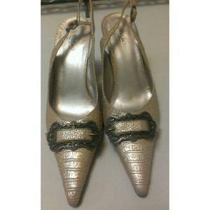 Mossimo Supply Co Shoes - Mossimo Slingback Heels Size 7