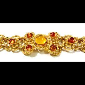 Lucien Piccard Jewelry - Vintage Lucien Piccard Statement Bracelet