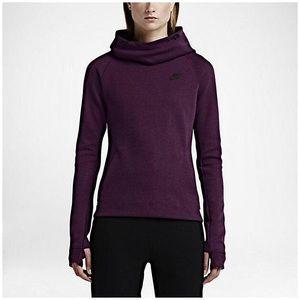 Purple Nike Tech Fleece Hoodie