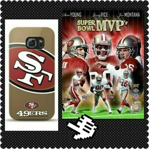 NFL 49ers Galaxy S6 Edge Cell Phone Case