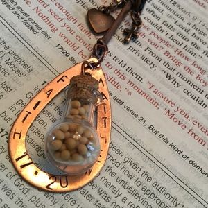 ✝Fairh✝Custom Mustard Seed Necklace✝