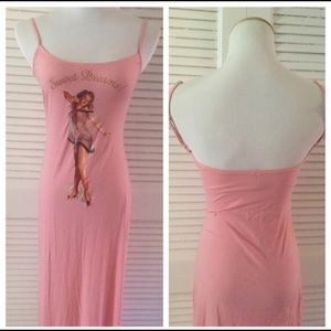 "Moschino Nightgown, Pin Up, Vintage, Med ""ish"""