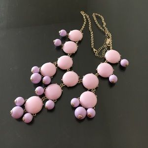 Jewelry - Lavender bubble necklace