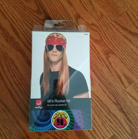 HALLOWEEN COSTUME 90 rocker kit- Axl Rose