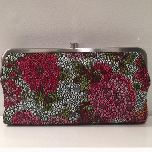 Hobo Bags Lauren Stingray Leather Double Frame Wallet Poshmark