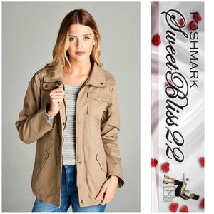 Jackets & Blazers - 💎 Fur Lined Utility Jacket💎