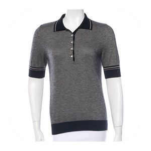 Loro Piana Sweaters - LORO PIANA CASHMERE POPOVER POLO TOP