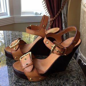 Giuseppe Zanotti Shoes - Giuseppe Zannoti  leather platform sandals