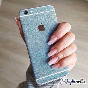 iPhone Glitter Skin Decal Sticker