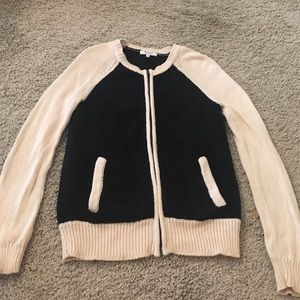 Madewell zip up sweater S