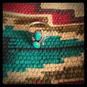 Vintage Jewelry - Small Two Stone Sleeping Beauty Ring
