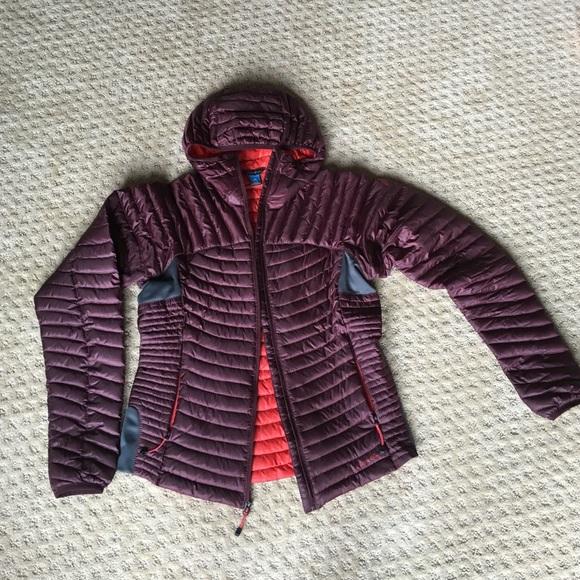 9f065987ca94 Eddie Bauer Jackets   Blazers - Women s MicroTherm StormDown Hooded Jacket