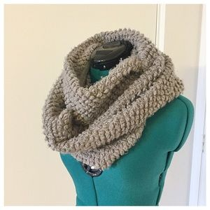 Nordstrom Accessories - Purple/Grey Infinity Scarf