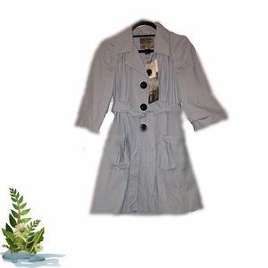 Mac & Jac 3/4 length trench coat size medium