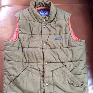 Penfield Harlan Green Vest