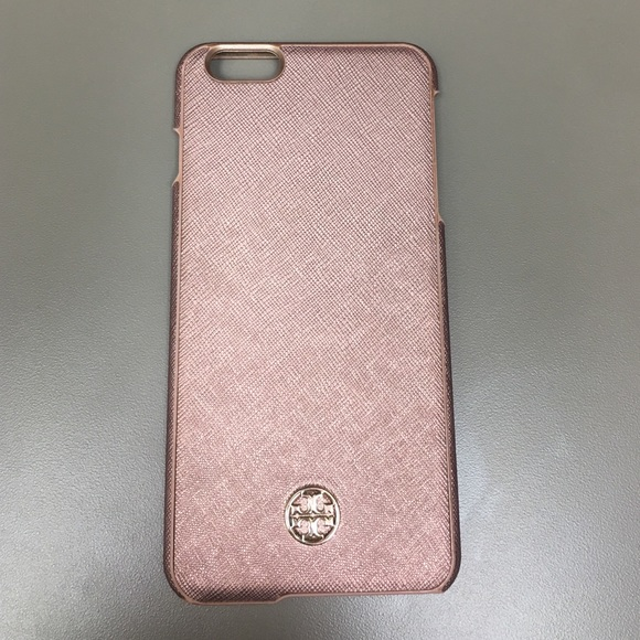 separation shoes fb6ba cc47b Rose gold Tory burch iPhone 6 / 6s plus case