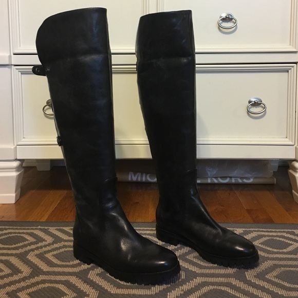 19886173f39 Cole Haan Shoes - Cole Haan Nike Air Over Knee Boots New