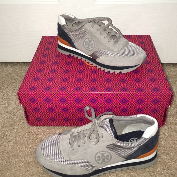 acd38df6780 Tory Burch sawtooth trainer size 8.5