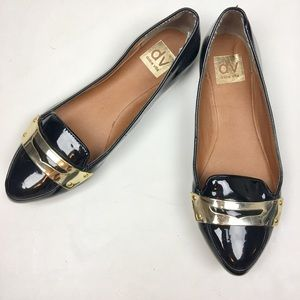 Dolce Vita Shoes - Dolce Vita Black Patent Leather Flats