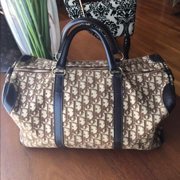 ca9966659e5 Christian Dior Handbags - Authentic Vintage 60s Christian Dior Duffle Speedy