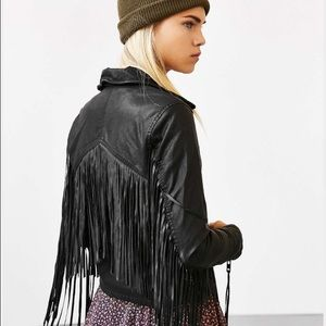 All American Rider Jackets & Blazers - Moto Jacket All American Leather biker fringe
