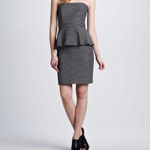 Shoshanna Dresses & Skirts - Shoshanna Peplum Dress in navy, size 2