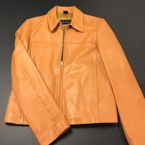 Nicole Miller Jackets & Blazers - Medium NICOLE MILLER LEATHER JACET.