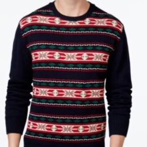 "Weatherproof Other - NWT Weatherproof Fair Isle holiday ""ugly"" sweater"
