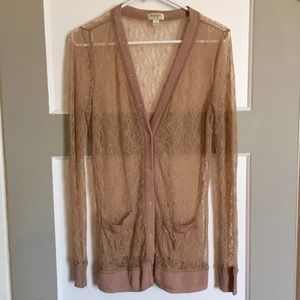 Rodarte for Target Sweaters - Rodarte for Target Lace Cardigan Size L