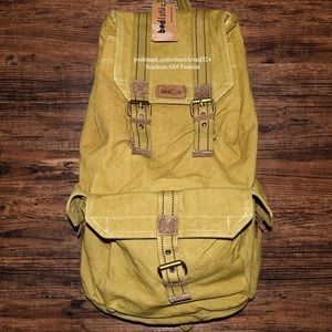 Free People Handbags - FREE PEOPLE Bag Distressed Backpack Big Book Tote