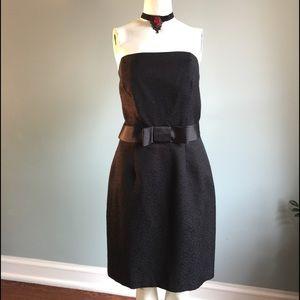 ABS Allen Schwartz Dresses & Skirts - ABS Black Strapless Cocktail Dress