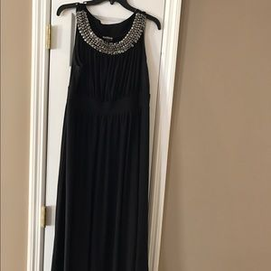 Dresses & Skirts - Plus size maxi with jeweled neckline