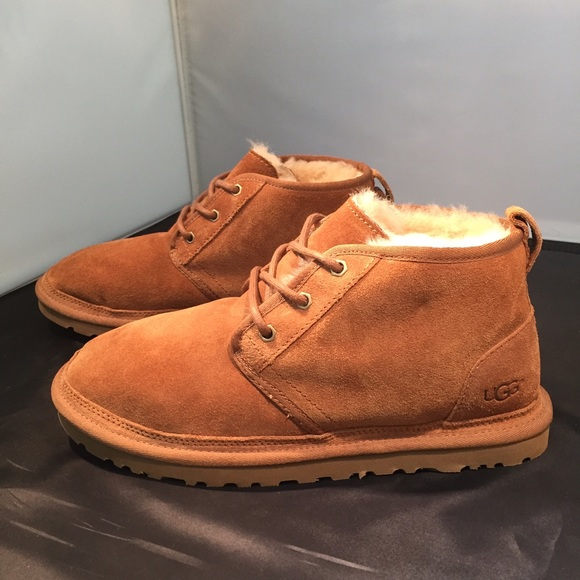 UGG Neumel Leather Ankle Boots nicekicks cheap price 3mvdlBJN